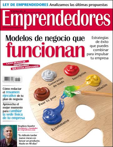 "SHOOTER on ""EMPRENDEDORES magazine"""