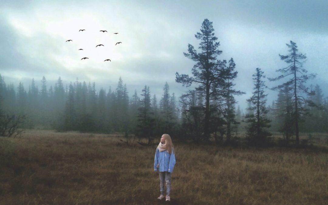 Girl in fog, 2012. Samsung Galaxy SIII